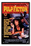 Pulp Fiction Movie Poster Black Frame...