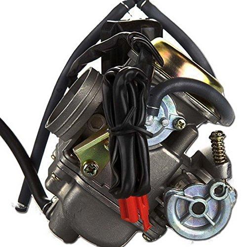 Aftermarket New Carb Construction Carburetor Fit For Hensim 150cc 149ccATV HSATV721-II 150cc 4-Stroke ATV BMS 150 Pathfinder Scooter 150cc 4-Stroke Scooter Vento Phantera GT5. 2008 150cc ATV. ROKETA. SUNL. BAJA. KAZUMA. CARROLL STREAM. EAGLE. TAOTAO. REDCAT. TANK. GIOVANNI. (Scooter Carburetor 150cc compare prices)