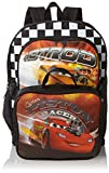 Disney Little Boys' Cars Backpack With Lunchbox, Multi, One Size