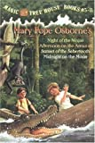Magic Tree House Boxed Set, Books 5-8: Night of the Ninjas, Afternoon on the Amazon, Sunset of the Sabertooth, and Midnight on the Moon By Mary Pope Osborne