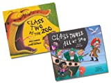 Julia Jarman and Lynne Chapman Julia Jarman Collection - 2 Books RRP £11.98 (Class Two at the Zoo; Class Three All at Sea)