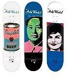 3 Alien Workshop Andy Warhol Icon Skateboard Deck Lot