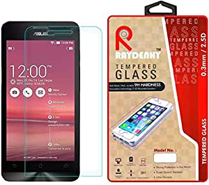"""Raydenhy 2.5D Curved Edges 0.33MM Thickness Tempered Glass For Asus Zenfone 5 A501CG (5"""")"""