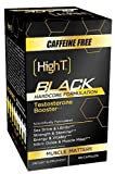 High T - Black Testosterone Booster Hardcore Formulation Caffeine Free - 120 Capsules