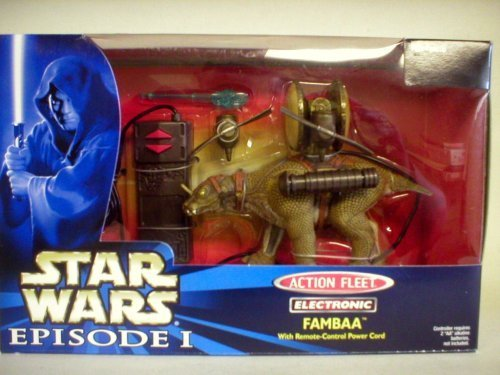 Star Wars Episode I Action Fleet Electronic Fambaa - 1