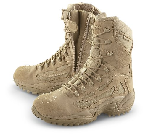 Men's Converse Waterproof Side - zip Desert Tactical Boots Desert Tan