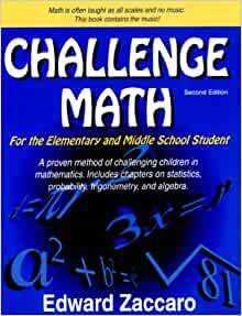 Challenge math edward zaccaro
