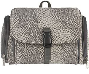 Travelon Hanging Toiletry Kit,One Size,Snake Print