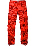Match Women's Camo Cargo Pants Sports Outdoors Military #2036M