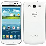 Samsung Galaxy S3 Verizon Phone, 16GB, Marble White SCH-I535