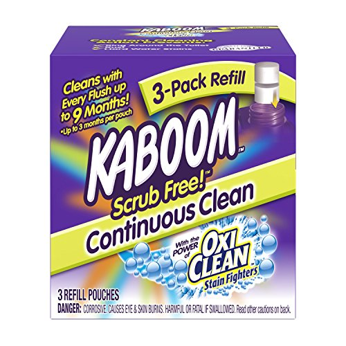 Kaboom Continuous Clean System Refill Tablets 3 Count