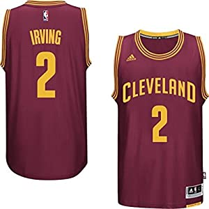 Kyrie Irving Cleveland Cavaliers Burgundy Youth adidas 2014-15 New Swingman Road Jersey
