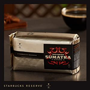 Starbucks Reserve Sun Dried Sumatra Rasuna Coffee - 8 Oz Whole Bean