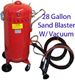 28 Gallon Abrasive Sandblaster With Vacuum
