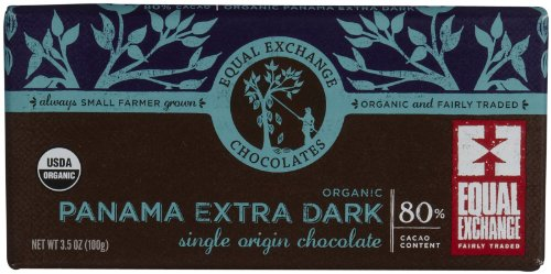Equal Exchange Extra Dark Panama 80% Cacao (12X3.5 Oz)