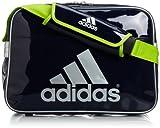 [アディダス] adidas メッセンジャーエナメルL WD153 F92210 (カレッジネイビー/ソーラースライム/メタリックシルバー)
