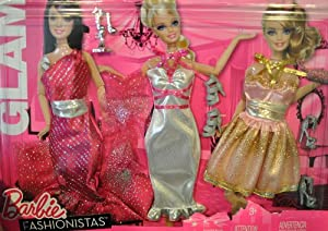 Barbie Fashionistas: Night Looks Clothes - Glam Night Out Fashion