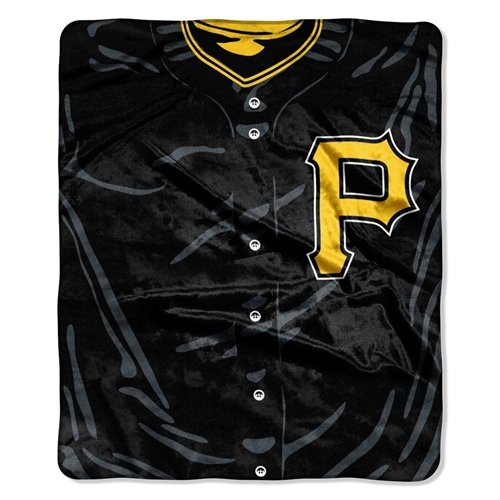 Pittsburgh Pirates 50''x60'' Royal Plush Raschel Throw Blanket - Jersey Design