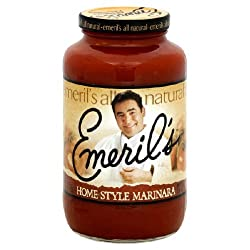 Emerils, Sauce Psta Marinara, 25 OZ (Pack of 6)