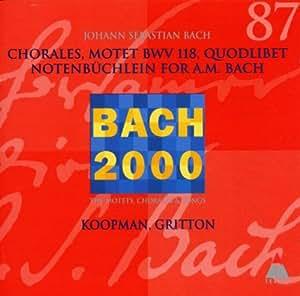 Choräle, Motetten BWV 118,