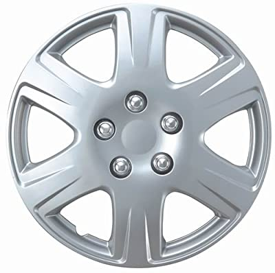 "Drive Accessories KT-993-15S/L, Toyota Corolla, 15"" Silver Replica Wheel Cover, (Set of 4)"