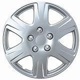 Drive Accessories KT-993-15S/L, Toyota Corolla, 15 Silver Replica Wheel Cover, (Set of 4)