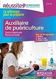Concours Auxiliaire de Puériculture - Tests d'aptitude, épreuve orale 2016 - Réussite Concours Nº41...