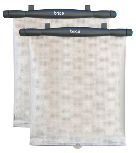 Brica Keep-It-Cool Reflective Window Shades (2 Pack), Gray/Silver front-698899