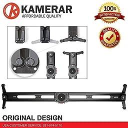 Kamerar 100cm Big Slider 3ft track Including Dolly skater camera DSLR FOR Canon 5D 6D 7D 60D 70D