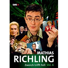  Mathias Richling - Zwerch trifft Fell Vol. 6 DVD ~ Mathias Richling 