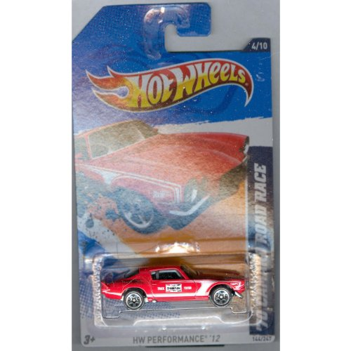 2012 Hot Wheels HW Perfomance '70 Camaro Road Race Red #144/247 - 1