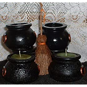 Cauldron Votive Candles - Call me