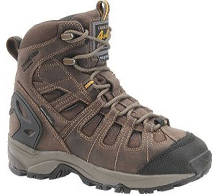 "Carolina Shoe Women'S 7""Waterproof 4X4 Hiker (Brown Leather 7.5 M)"