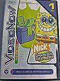 "Videonow Color Nick Spongebob Squarepants Personal Video Disc PVD ""Fools in April"" + Neptunes Spatula"""