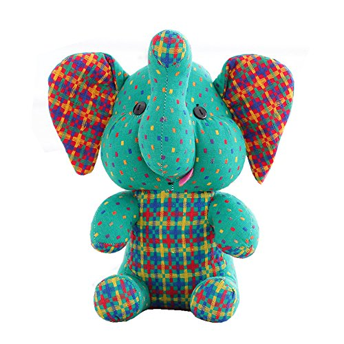 Cute Elephant Doll Creative Toys Plush Stuffed Toy Baby Birthday Gift Furniture Decoration 11