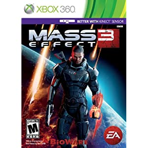 517WrLQT7iL. AA300  Download Mass Effect 3 2012   XBox 360   Kinect