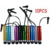 10x Stylet Touch Screen Pen for iPhone 5 4S 4 3GS 3G iPad Mini 2 3 LG Optimus L3