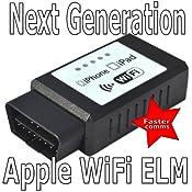 ELM327 WIFI Wireless OBD2 OBDII Car Auto Diagnostic: Amazon.co.uk: Electronics