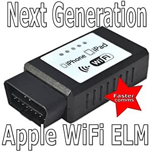ELM327 WIFI Wireless OBD2 OBDII Car Auto Diagnostic Scanner Adapter Reader for iPhone5 iPad4 iOS PC