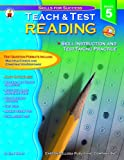 img - for Teach & Test Reading Grade 5 book / textbook / text book