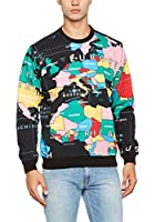 Love Moschino Sudadera (Negro / Multicolor)
