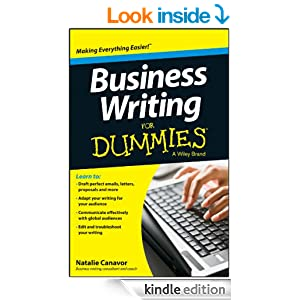 Amazon Business Writing For Dummies EBook Natalie