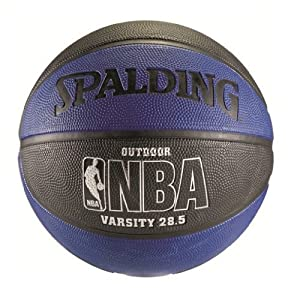 Spalding NBA Varsity Basketball - Blue/Black (28.5