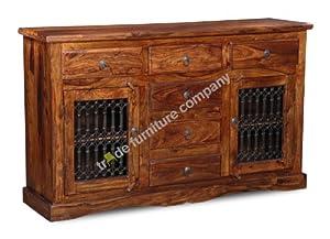 Jali Sheesham Furniture 2 Door Large Sideboard   Living Room Furniture       Customer reviews and more news