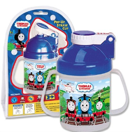 Thomas and Friends Pop-Up Straw Cup