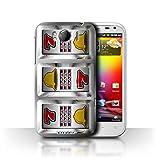 STUFF4 Phone Case Cover for HTC Sensation XLG21 Bars Design Slot Machine Collection