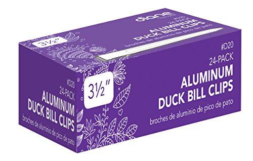 Diane Aluminum Duck Bill Clips (24 per pack) (Velcro Hair Clip compare prices)