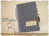 手帳カバーほぼ日手帳オリジナルサイズ対応バタフライタイプヒッコリーデニムxマリン イカリ柄