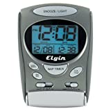 Elgin 3400E LCD Alarm Clock ~ Elgin