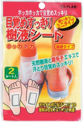 東京企画 樹液シート 温感 ミニタイプ 2枚